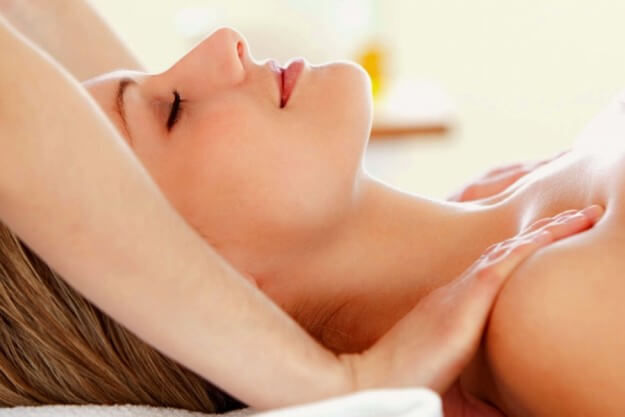 lymphatic drain massage